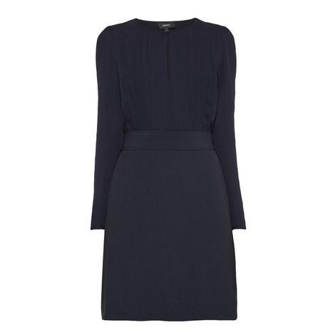 Keyhole Blouse Dress, ${color}
