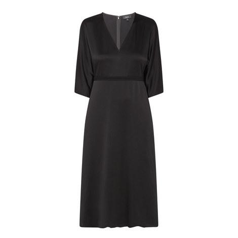 V-Neck Evening Dress, ${color}
