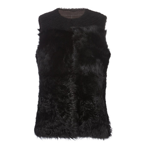 Shearling Gilet, ${color}
