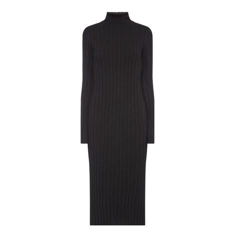 Polo Neck Dress, ${color}