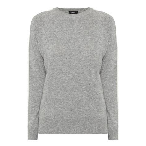 Striped Cashmere Sweater, ${color}