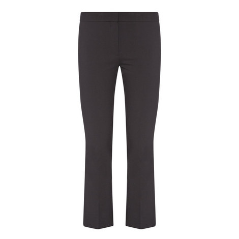 Bi-Stretch Kickflare Trousers, ${color}