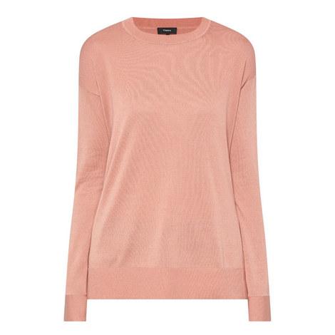 Karenia Long Sleeve Sweater, ${color}