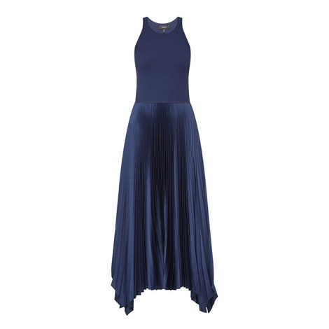 Vinessi Pleated Dress, ${color}