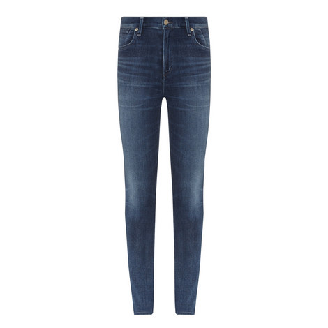 Carlie High Rise Skinny Jeans, ${color}