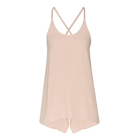 Open Back Twill Tank Top, ${color}