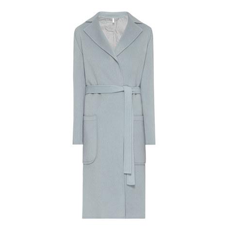 Belted Wool Coat, ${color}