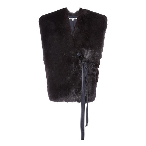 Faux Fur Gilet, ${color}