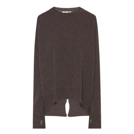 Split Back Sweater, ${color}