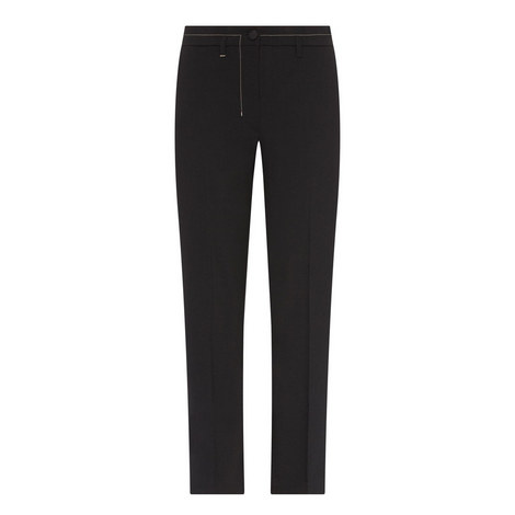 Slim-Fit Tailored Trousers, ${color}