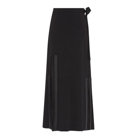 Ribbon Detail Maxi Skirt, ${color}