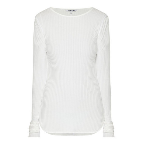 Corded Long Sleeve Top, ${color}