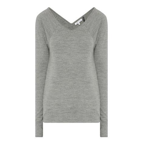 Long Sleeve Raglan Top, ${color}