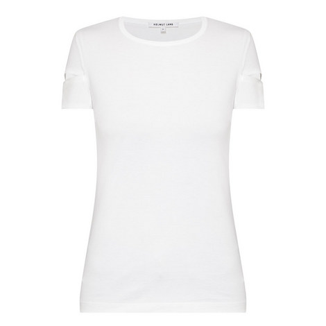 Patent Cuff T-Shirt, ${color}
