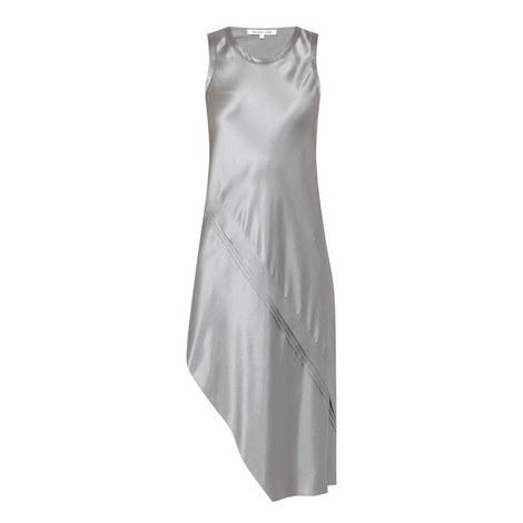 Sleeveless Silk Dress, ${color}