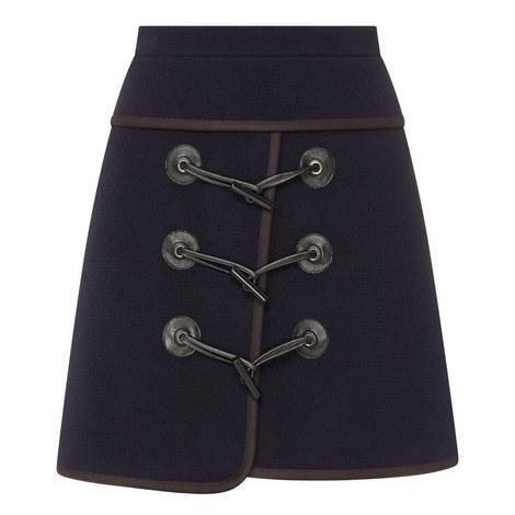 Wool Mix Mini Skirt, ${color}