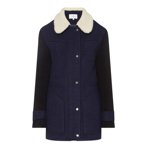 Short Wool Coat, ${color}