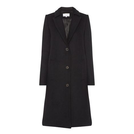 Longline Tailored Coat, ${color}