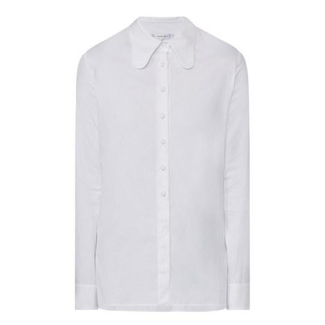 Long Sleeve Poplin Shirt, ${color}