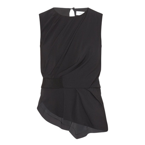 Belted Drape Top, ${color}