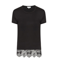 Lace End T-Shirt