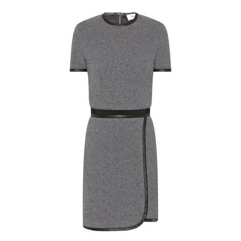 Wool Mix Mini Dress, ${color}