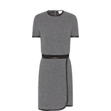 Wool Mix Mini Dress