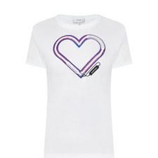 Heart Front T-Shirt
