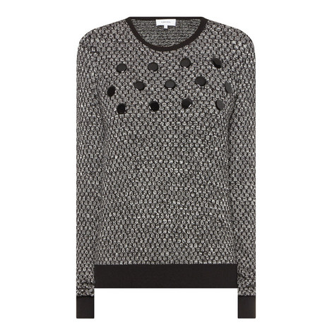 Lurex Knit Sweater, ${color}