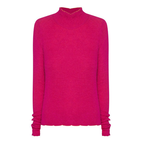 High-Neck Sweater, ${color}