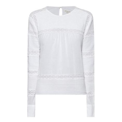 Rexton Lace Appliqué Top, ${color}