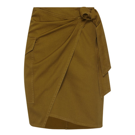 Olga Wrap Skirt, ${color}