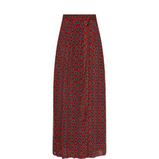 Belina Silk Chiffon Skirt