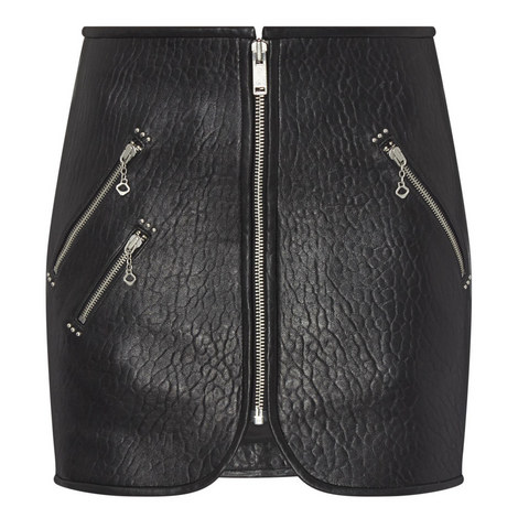 Kari Leather Skirt, ${color}