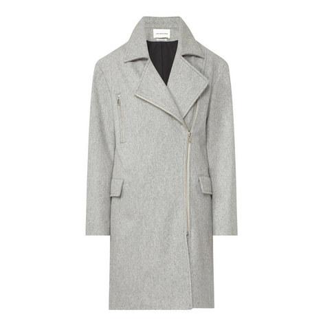 Elsa Virgin Wool Coat, ${color}