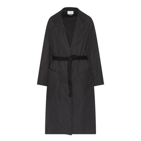 Idony Utilitarian Wrap Coat, ${color}