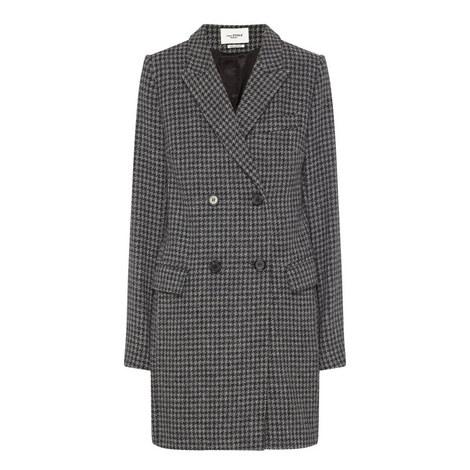 Iken Houndstooth Coat, ${color}
