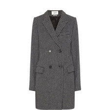 Iken Houndstooth Coat