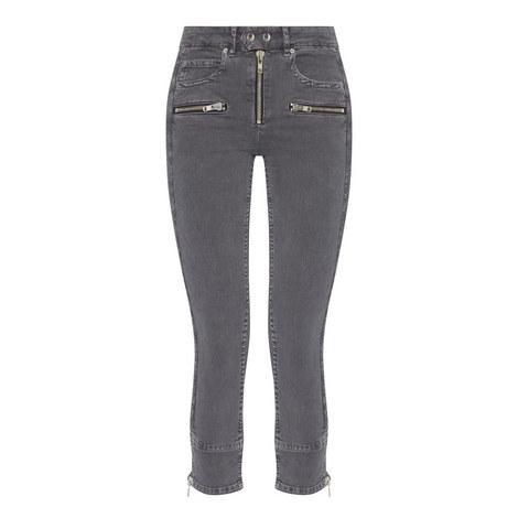 Pelona Zipped Jeans, ${color}