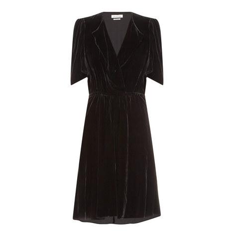 Lynna Velvet Dress, ${color}