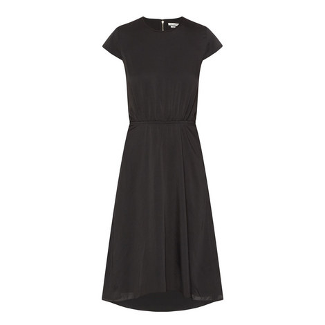 Harold Crepe Cap Sleeve Dress, ${color}