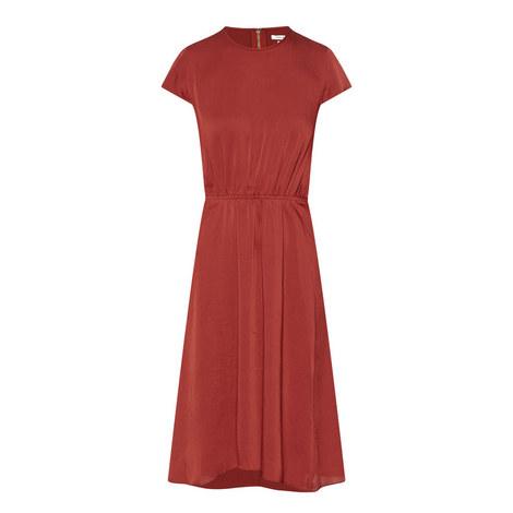 Harold Crepe Cap Sleeve Dress, ${color}