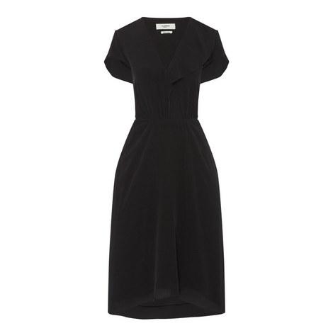 West V-Neck Dress, ${color}