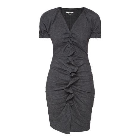 Oya Ruffle Front Dress, ${color}