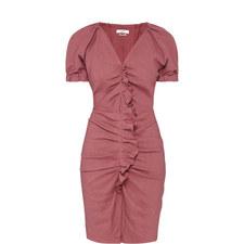 Oya Ruffle Front Dress