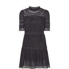 Vicky Short Sleeve Ruffle Dress