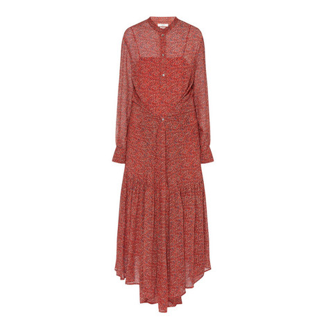 Javene Floral Print Dress, ${color}