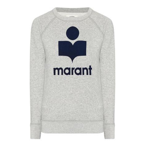 Milly Logo Sweatshirt, ${color}