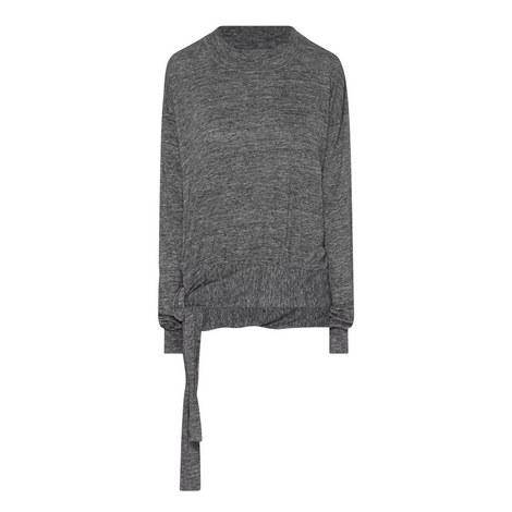 Kali Side-Tie Linen Top, ${color}