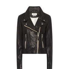 Aken Leather Biker Jacket